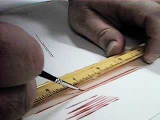 Brush with Ruler