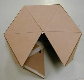 Fugli 39 s fantasy foundry for Paper mache structure